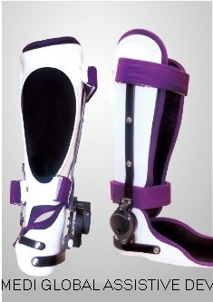 Adjustable Elastic Force Ankle Hinge