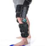 Telescoping ROM Knee Brace